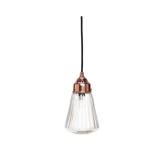 pendant-glass-shade-celing-copper-lamp-ribbed-funnel-light-danish-design-by-hubsh