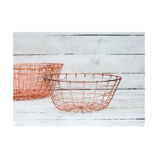 584-Brass-Wire-Storage-Fruit-Round-Bowl-Baskets-set-of-5