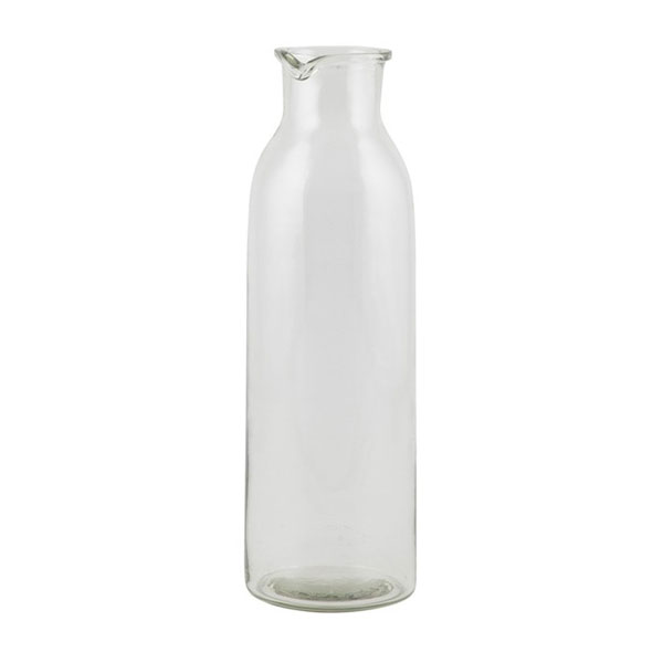 592-Large-Handblown-Glass-Bottle-with-Spout-for-Water-Juice-by-Ib-Laursen