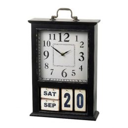 598-Pretty-Black-Perpetual-Flip-Calendar-&-Clock-by-Parlane
