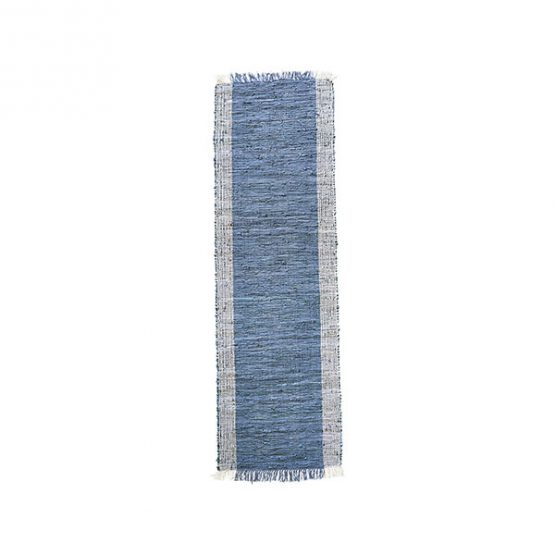 612-Flatweave-Leather-CINDI-Grey-Natural-Runner-Rug-Danish-Design-by-House-Doctor-70×240-cm