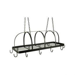 black-12-hook-kitchen-pot-rack-holder-pan-organizer-cookware-storage-hanger-ib-laursen