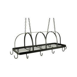 black-12-hook-kitchen-pot-rack-holder-pan-organizer-cookware-storage-hanger-ib-laursen
