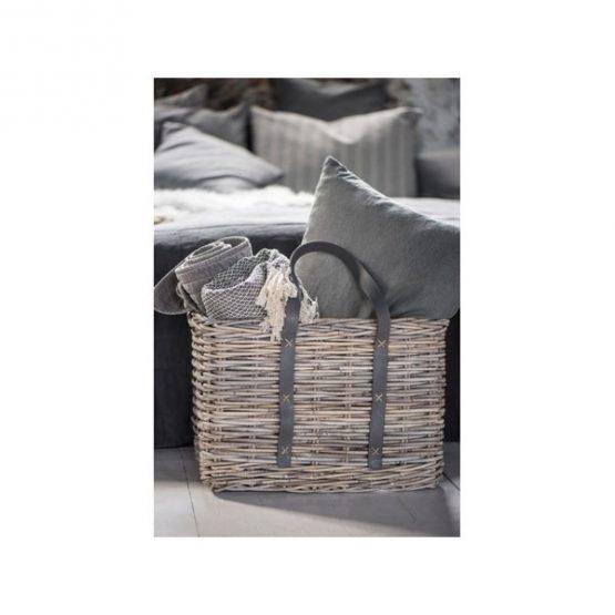636-100-%-Cotton-Sofa-Bed-Cream-Black-Zigzag-Pattern-Throw-Blanket-by-Ib-Laursen-1