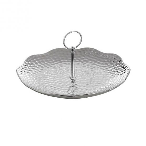649-Silver-Ceramic-Round-Cake-Stand-Display-Plate-in-Dimple-Effect