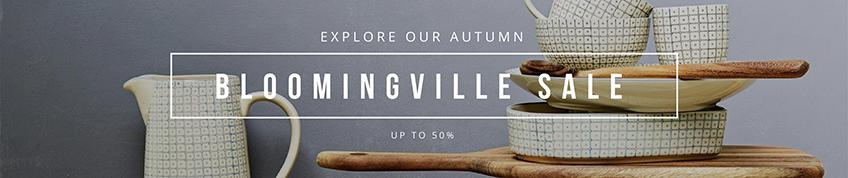 Bloomingville sale banner