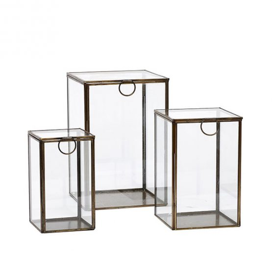 676-Antique-Metal-and-Glass-Display-Jewellery-Boxes-Set-of-3–Danish-Design
