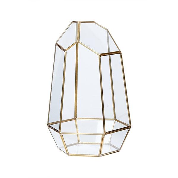 scandinavian lighting. Tall Terrarium Brass And Glass Plants Scandinavian Design Danish Nordic By Hubsch Lighting E