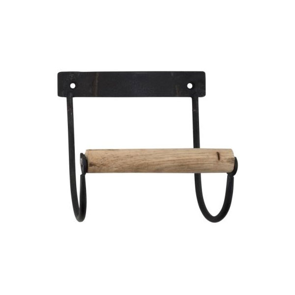 691-Industrial-Black-Toilet-Paper-Holder-with-Wooden-Roll-by-Ib-Laursen