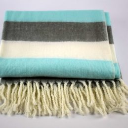 danish-design-mint-grey-white-sofa-bed-throw-blanket-plaid-125-x-150-cm