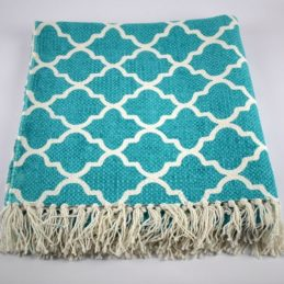 blue-flatweave-cotton-moroccan-pattern-rug-65x135-cm