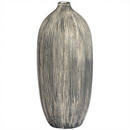 modern-stone-style-brown-ceramic-vase-flower-bunch-decor-tall-hill-interiors