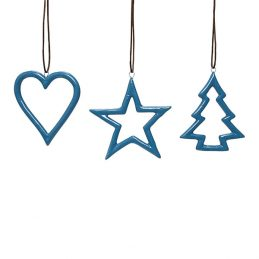 738-Blue-Ceramics-Star-Heart-Christmas-tree-for-Hanging-Christmas-Decoration-by-Hubsch