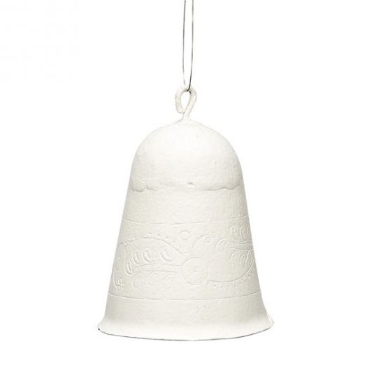 747-White-Small-Metal-Bell-for-Hanging-Christmas-Decoration-by-Hubsch