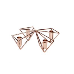triangular-copper-advent-candle-holder-by-hubsch