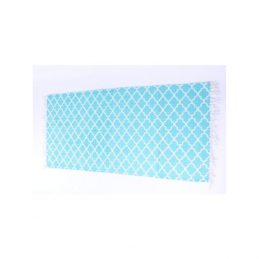 blue-flatweave-cotton-moroccan-pattern-rug-65x135