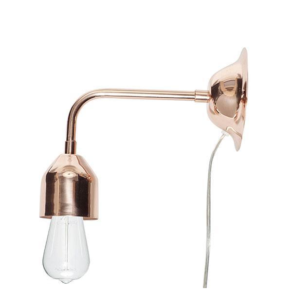 Modern Wall Mounted Black Sconce Light Lamp Danish Design by Hubsch