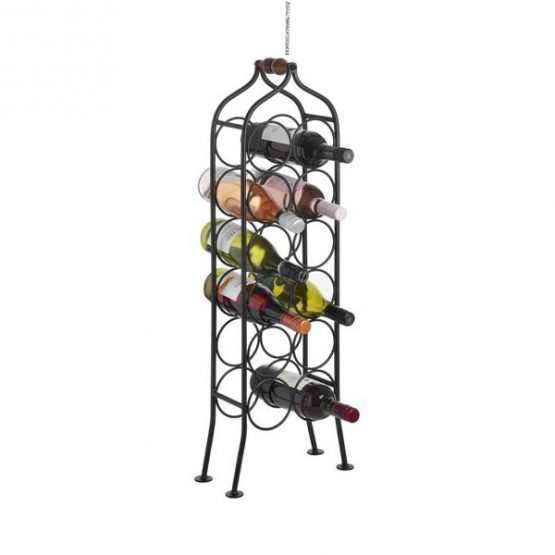795-12-Bottle-Wrought-Iron-Standing-Black-Wine-Rack-Holder-with-Handle-by-Hill-Interiors2