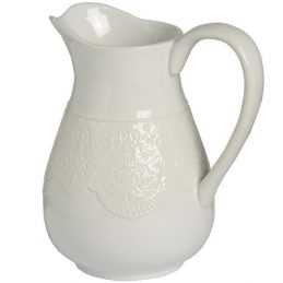 white-ceramic-lace-pattern-detail-traditional-jug-vase-21-5-cm-by-hill-interiors