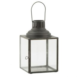 810-Glass-&-Metal-Black-Hanging-Lantern