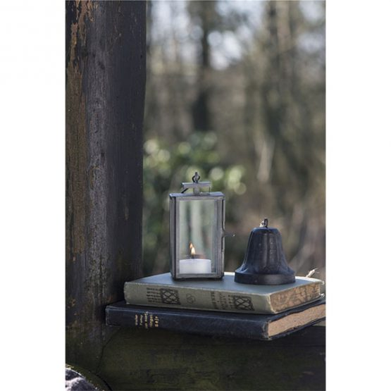 814-Mini-Glass-&-Metal-Black-Hanging-Lantern2