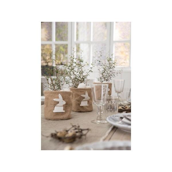 100 cotton beige table runner by ib laursen