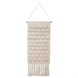 cream-woven-patterned-hanging-wall-decor-with-many-fringes-by-ib-laursen