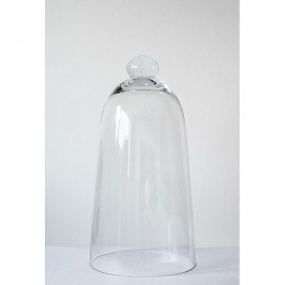 853-Mouth-Blown-Glass-Display-Cover-Cloche-Bell-Dome-Centrepiece-Glocke-29-cm1