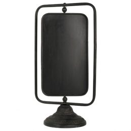 859-Large-Metal-Framed-Blackboard-and-Stander-by-Ib-Laursen