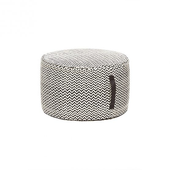 868-Round-Black-and-White-Cotton-Pouf-with-Pattern
