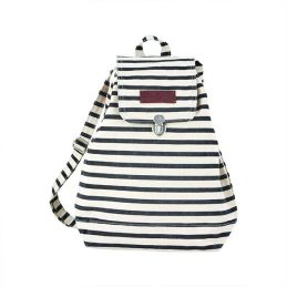 901-Black-&-White-Striped-Cotton-Backpack-by-House-Doctor-40-cm1