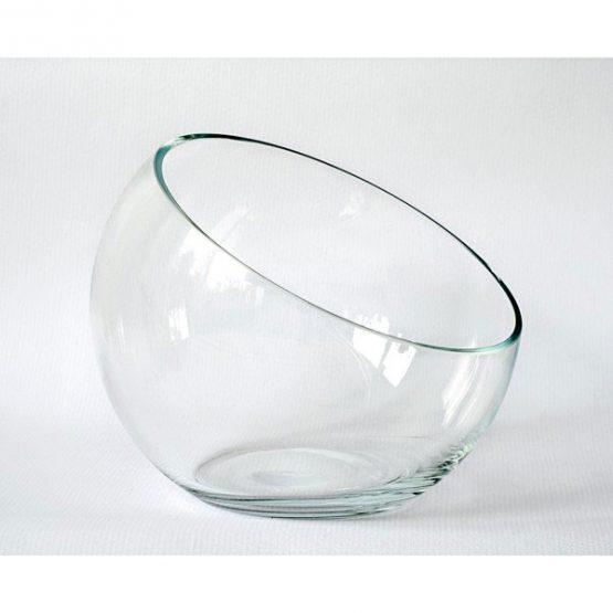 902-Medium-Handmade-Clear-Glass–Bowl-Trifles-Fruit-Salad-Dish1