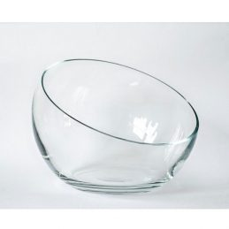 large handmade clear glass bowl trifles fruit salad dish 205 cm - Decorative Glass Bowls