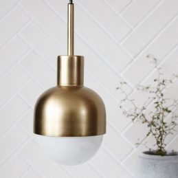 modern-glow-brass-pendant-ceiling-light-by-house-doctor