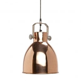 Coper Ceiling Pendant Light Lamp Danish Design by Hubsch