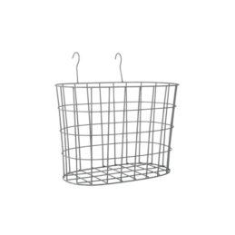 set-of-2-oval-metal-wire-hanging-window-baskets-garden-planter-by-ib-laursen