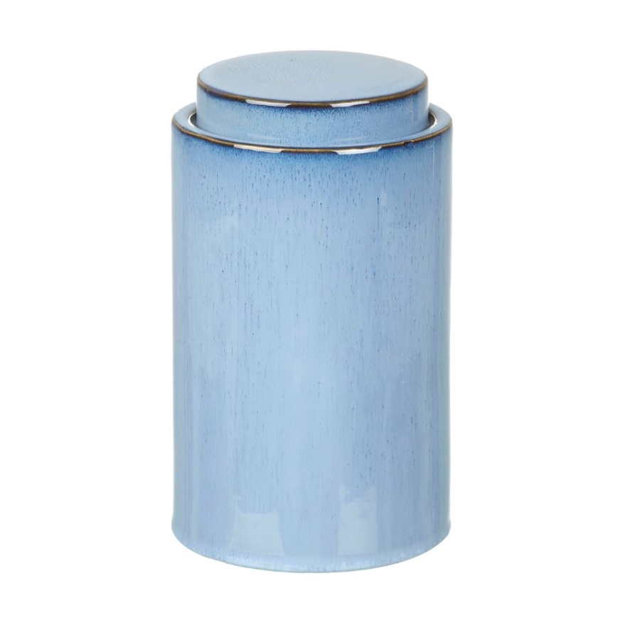 Ceramic Jare Storage Lucani Blue 24 cm by Parlane
