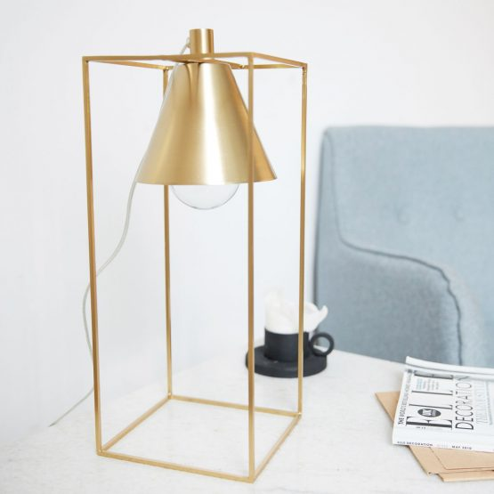 Contemporary Table Lamp Kubix by House Doctor