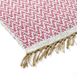 medium-pink-chunky-cotton-reversible-chevron-pattern-rug-90-x-150-cm