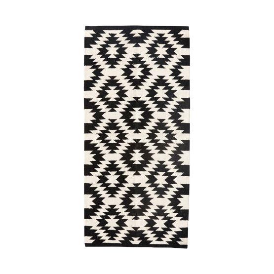 em-home-hubsch-black-rug-runner-geometric-white-pattern-large-500118