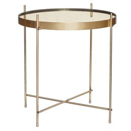 round-modern-gold-metal-side-table-with-mirror-top-by-hubsch