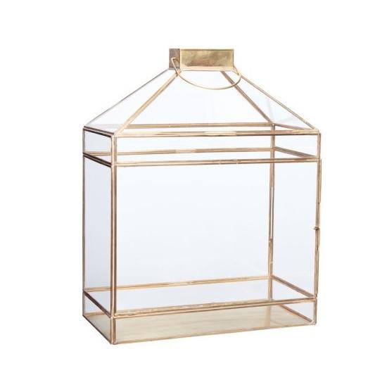 large-brass-glass-lantern-tealight-pillar-candle-holder-by-hubsch