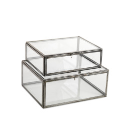 emhome-nkuku-jewellery-glass-matt-grey-box-storage-office-ON31 – WB