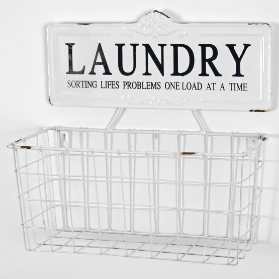 white-farmhouse-metal-laundry-wall-basket-storage-organiser