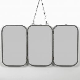 rustic-grey-rectangular-3-panel-folding-wall-hanging-mirror