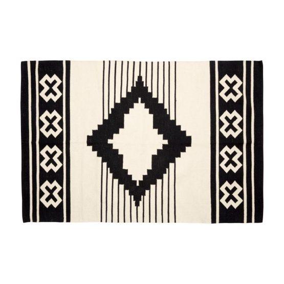 em_home-hubsch-cotton-black-white-woven-rug-homeware-home-decor-810303