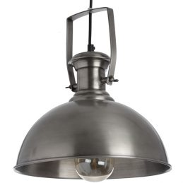 hanging-industrial-style-antique-silver-pendant-shade-light-lamp