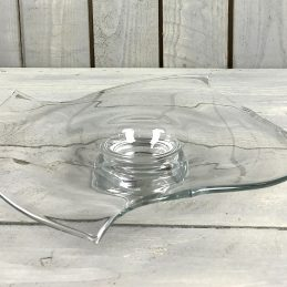 handmade-clear-glass-fruit-bowl-centerpiece