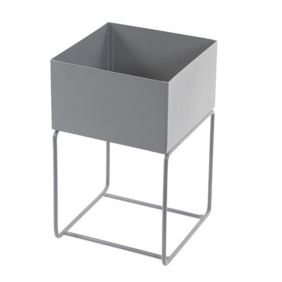 industrial-square-grey-metal-plant-trough-stand-tobs