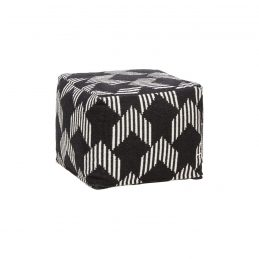 square-cotton-pouf-in-black-white-pattern-by-hubsch
